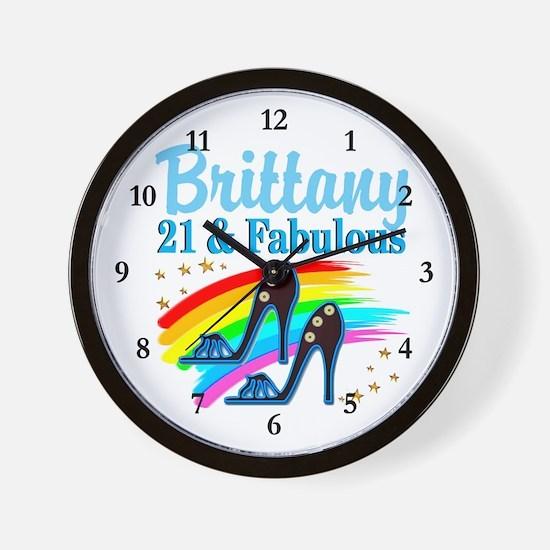 21 YR OLD PRINCESS Wall Clock