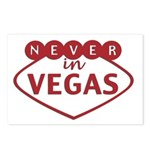 Never in Vegas Postcards (Package of 8)