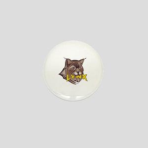 LYNX MASCOT Mini Button