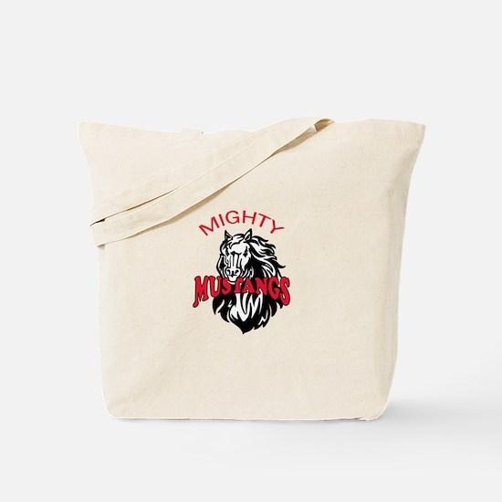 MIGHTY MUSTANGS Tote Bag
