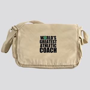 World's Greatest Athletic Coach Messenger Bag