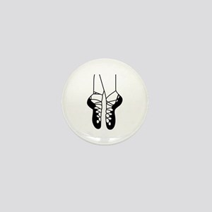 IRISH DANCE SHOES ONE COLOR Mini Button