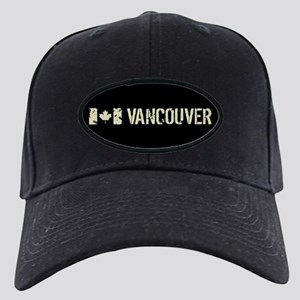 Canadian Flag: Vancouver Black Cap with Patch