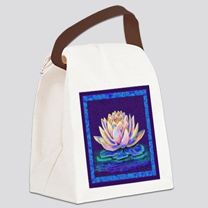 LOTUS BLOSSOM Canvas Lunch Bag