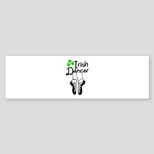 IRISH DANCER Bumper Sticker