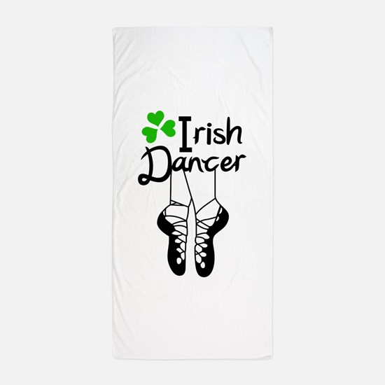 IRISH DANCER Beach Towel