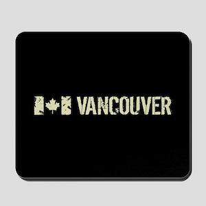 Canadian Flag: Vancouver Mousepad