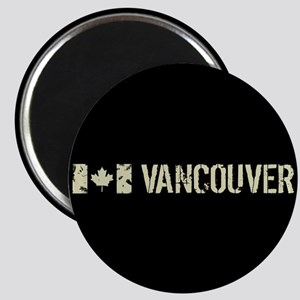 Canadian Flag: Vancouver Magnet