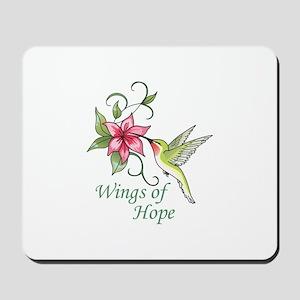 WINGS OF HOPE Mousepad