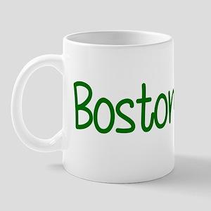 Boston Girl Shamrock Mug