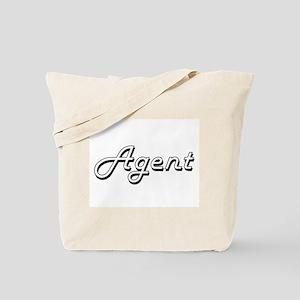 Agent Classic Job Design Tote Bag