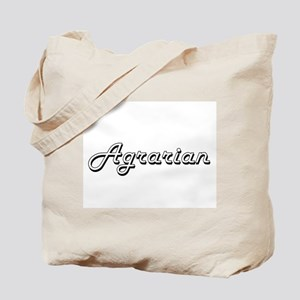 Agrarian Classic Job Design Tote Bag