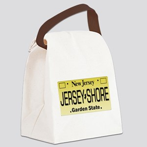 Jersey Shore Tag Giftware Canvas Lunch Bag