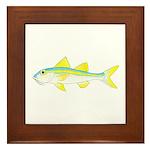 Yellow Goatfish Framed Tile