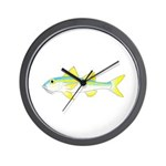 Yellow Goatfish Wall Clock