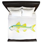 Yellow Goatfish King Duvet