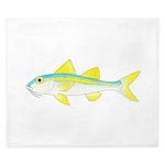 Yellow Goatfish King Duvet