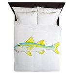 Yellow Goatfish Queen Duvet