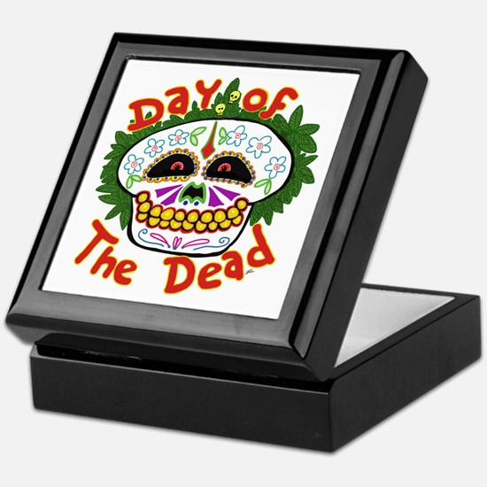 day of the dead Keepsake Box