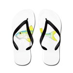 Yellow Goatfish Flip Flops