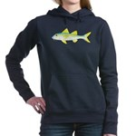 Yellow Goatfish Women's Hooded Sweatshirt