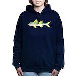 Yellow Goatfish Women's Hooded Sweatshirt