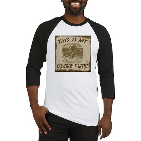My Cowboy T-Shirt Baseball Jersey