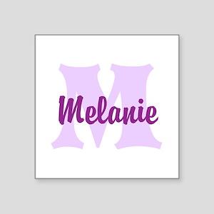 CUSTOM Lilac Purple Monogram Sticker