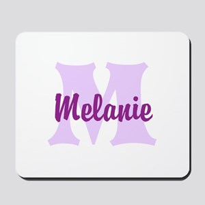 CUSTOM Lilac Purple Monogram Mousepad