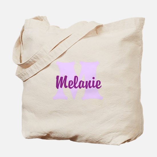 CUSTOM Lilac Purple Monogram Tote Bag
