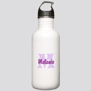 CUSTOM Lilac Purple Monogram Water Bottle