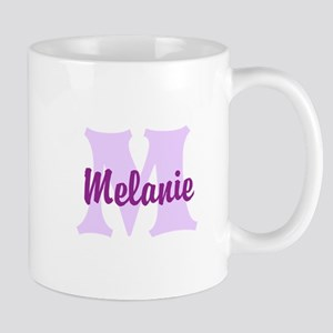 CUSTOM Lilac Purple Monogram Mugs