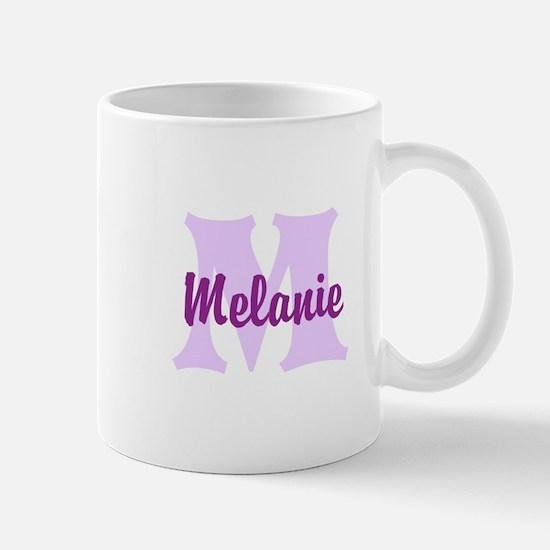 CUSTOM Lilac Purple Monogram Mugs