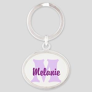CUSTOM Lilac Purple Monogram Keychains