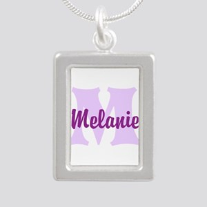 CUSTOM Lilac Purple Monogram Necklaces