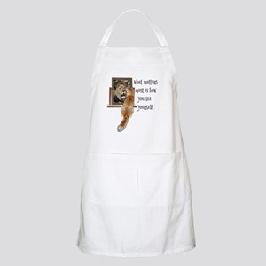 What matters most is how you see yourself Apron