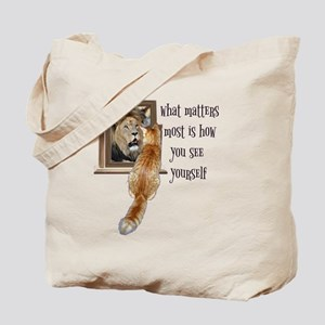 What matters most is how you see yourself Tote Bag