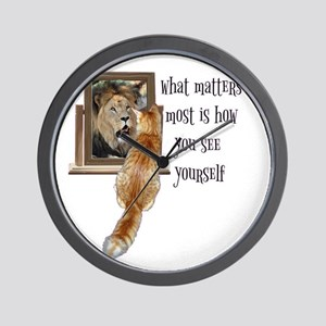 What matters most is how you see yourse Wall Clock