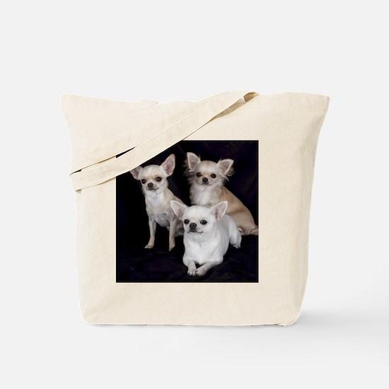 Adorable Chihuahuas Tote Bag