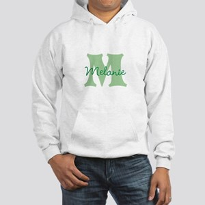 CUSTOM Green Monogram Hoodie