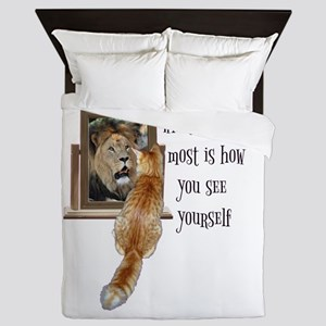 What matters most is how you see yours Queen Duvet