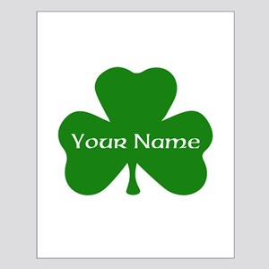 CUSTOM Shamrock with Your Name Posters