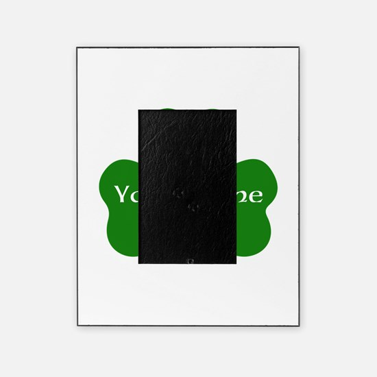 CUSTOM Shamrock with Your Name Picture Frame
