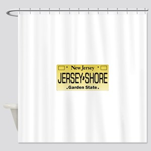 Jersey Shore Tag Giftware Shower Curtain