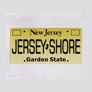 Jersey Shore Tag Giftware Throw Blanket