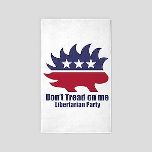 Libertarian Party Area Rug