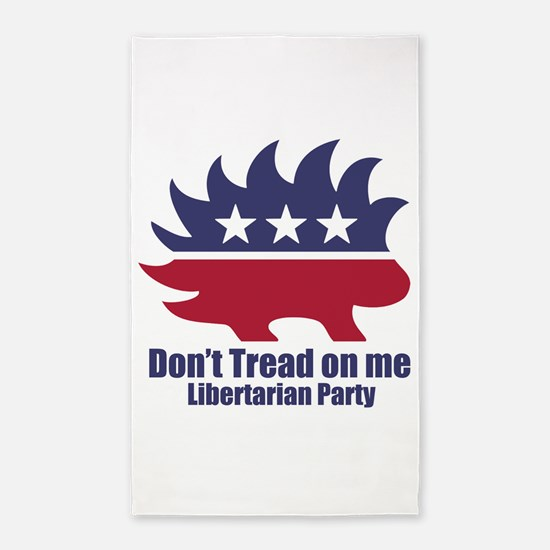Libertarian Party Area Rug