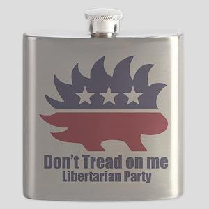 Libertarian Party Flask