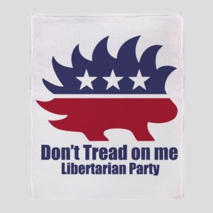 Libertarian Party Throw Blanket