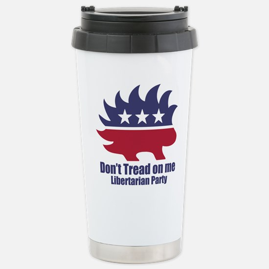 Libertarian Party Stainless Steel Travel Mug